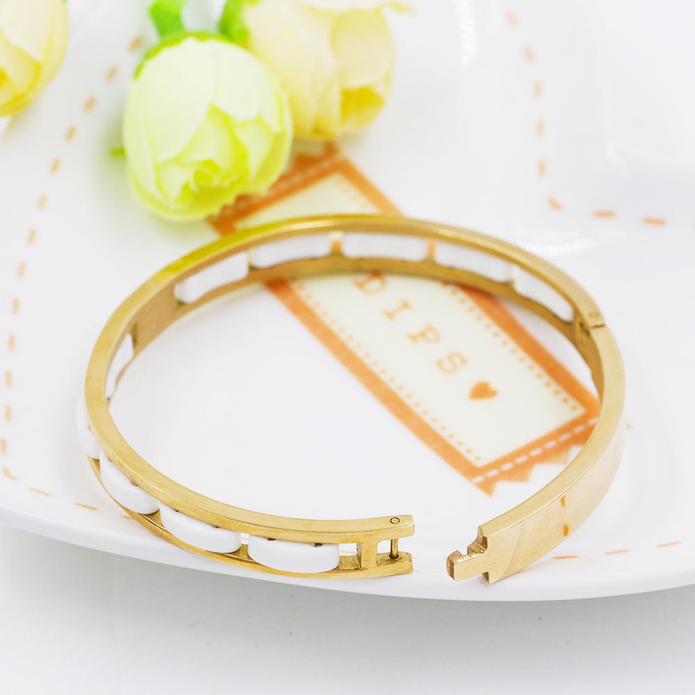 Women bangle vintage cuff bangle bf  bangle with stone - AW00085ahpv-683