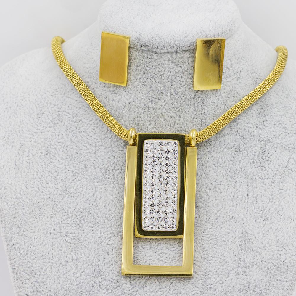 Indian jewelry set stone jewelry set special design for women - AW00262vila-371