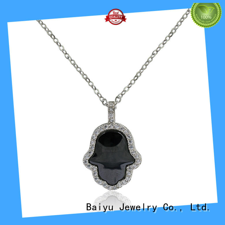 long linked chin mens stainless steel rope chain bulk production for gift Baiyu Jewelry