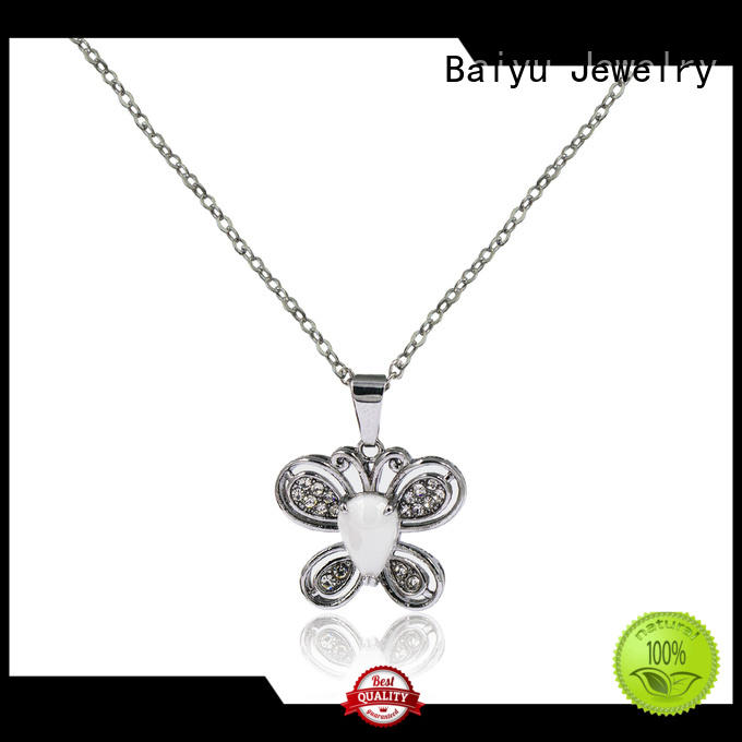 Baiyu Jewelry long stainless steel chains for sale charm for gift