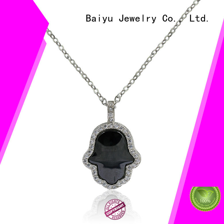 Baiyu Jewelry long stainless steel jewelry chain for wholesale for women