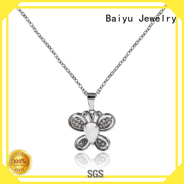 long 22 inch stainless steel chain free sample for girl Baiyu Jewelry