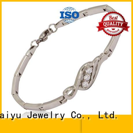 Baiyu Jewelry hot-sale metal bracelets for women for boys