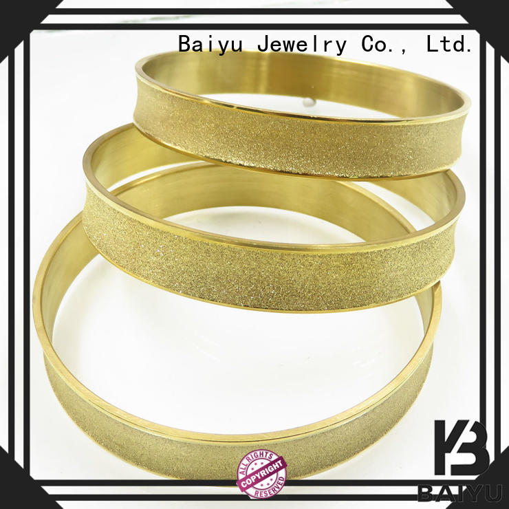 tones stainless steel bangles high-end for girls