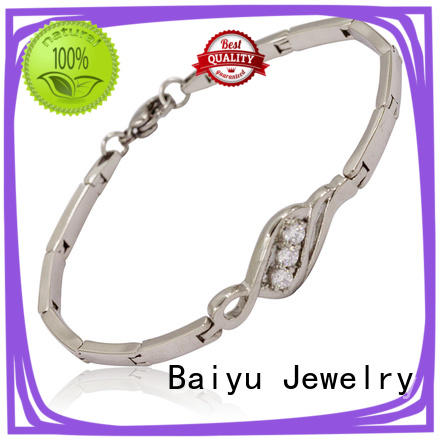 Top stainless steel bangle bracelets Supply