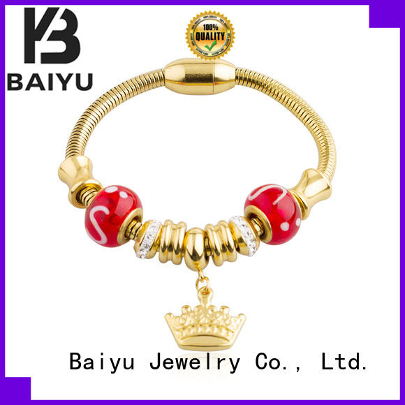 Baiyu Jewelry bracelet stainless steel for wholesale for girl