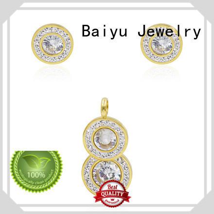 aw00042aima371 cheap stainless steel jewelry luck bird for gift Baiyu Jewelry