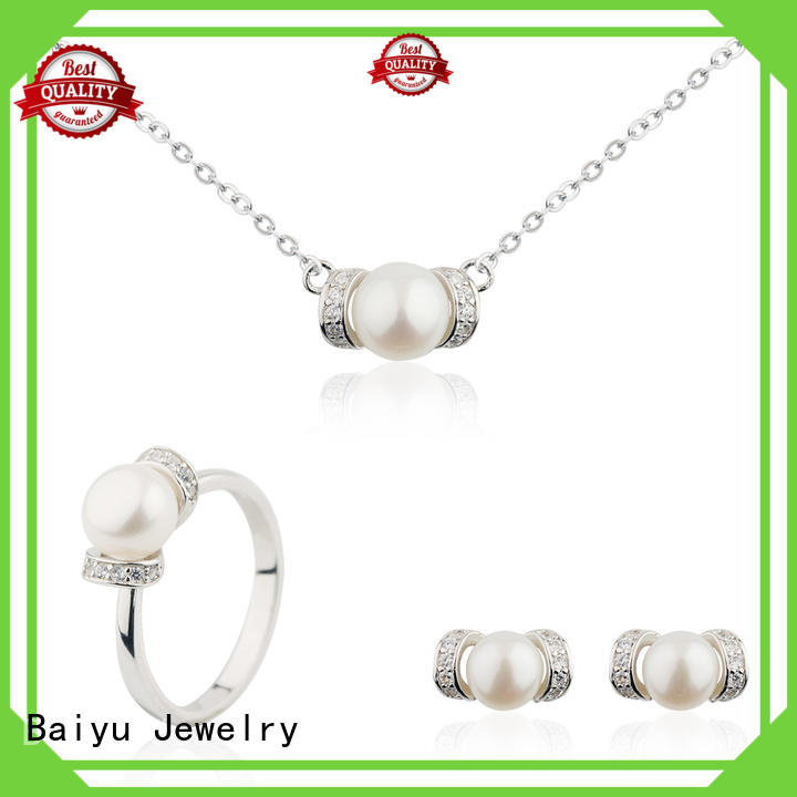 bridal necklace set favorable for girls Baiyu Jewelry