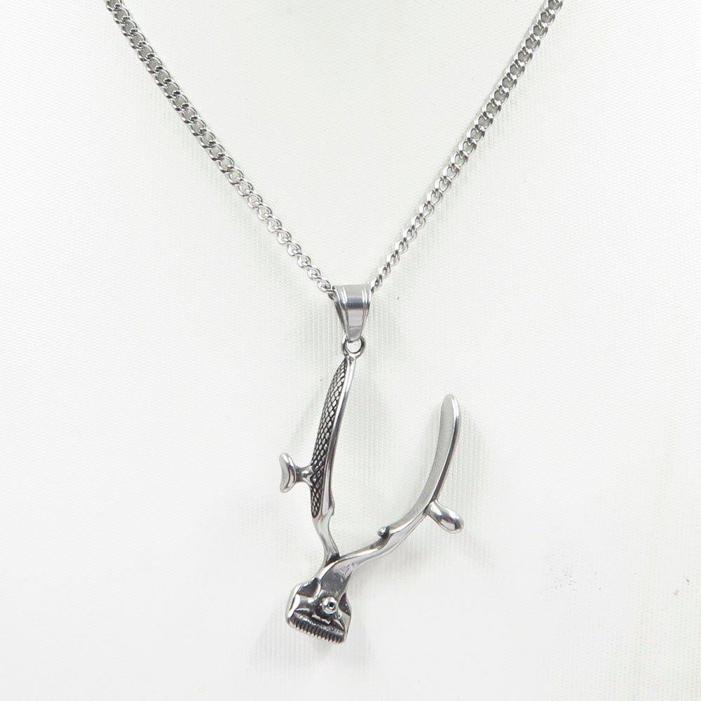 Tool shape modern design stainless steel custom pendant