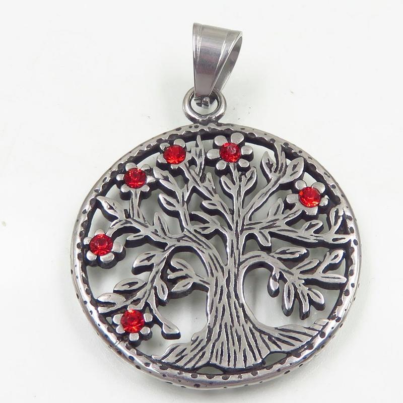 Hot selling customize tree shape pendant for european market