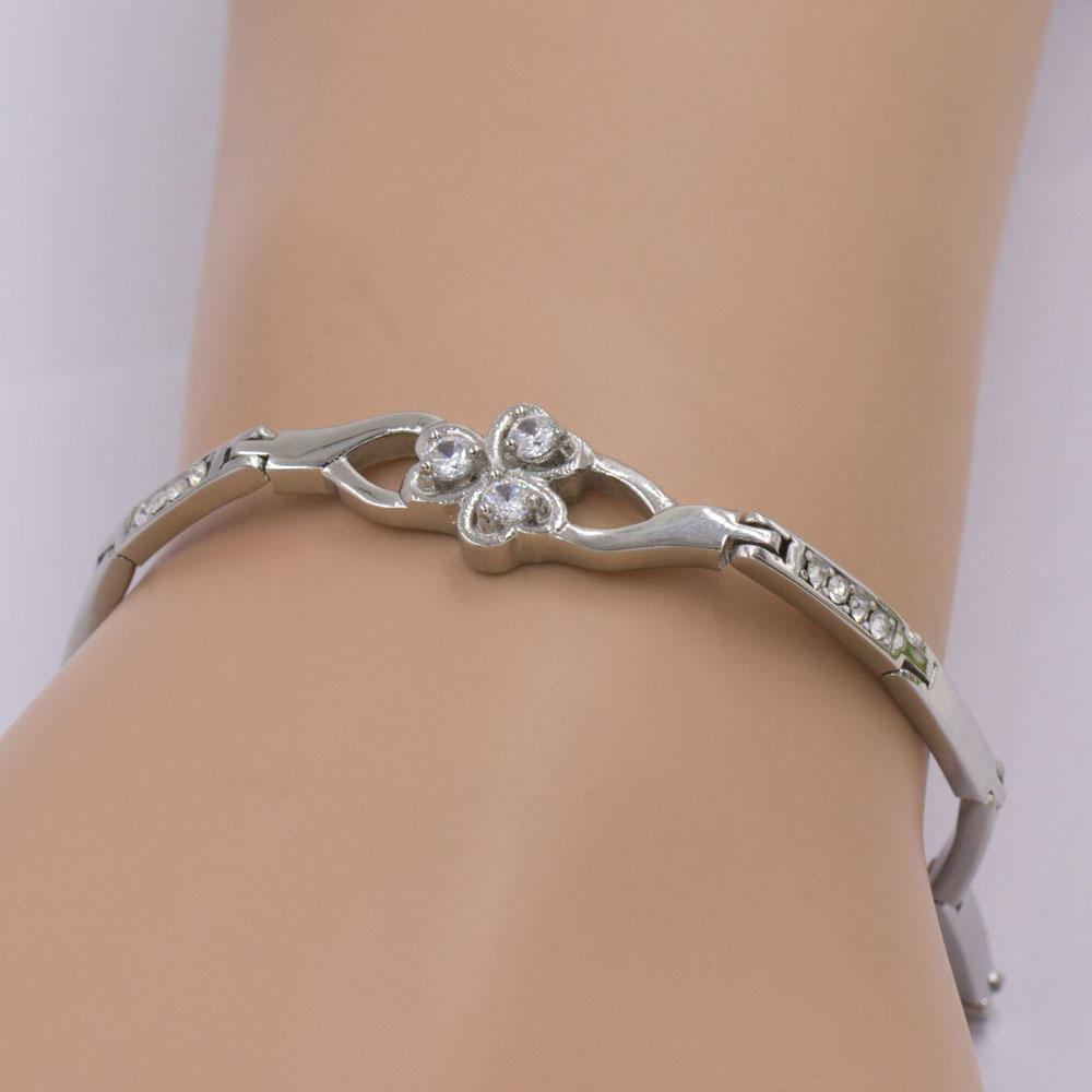 Glittering crystal women bracelet accessories jewelry