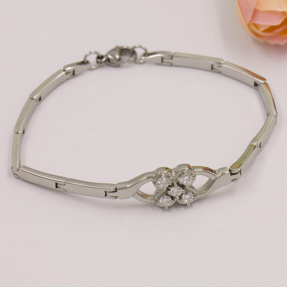 Wholesale and high class quality stainless steel bracelet from Baiyu
