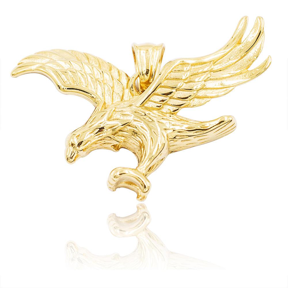 New classic eagle gold pendant for men,custom pendant jewelry