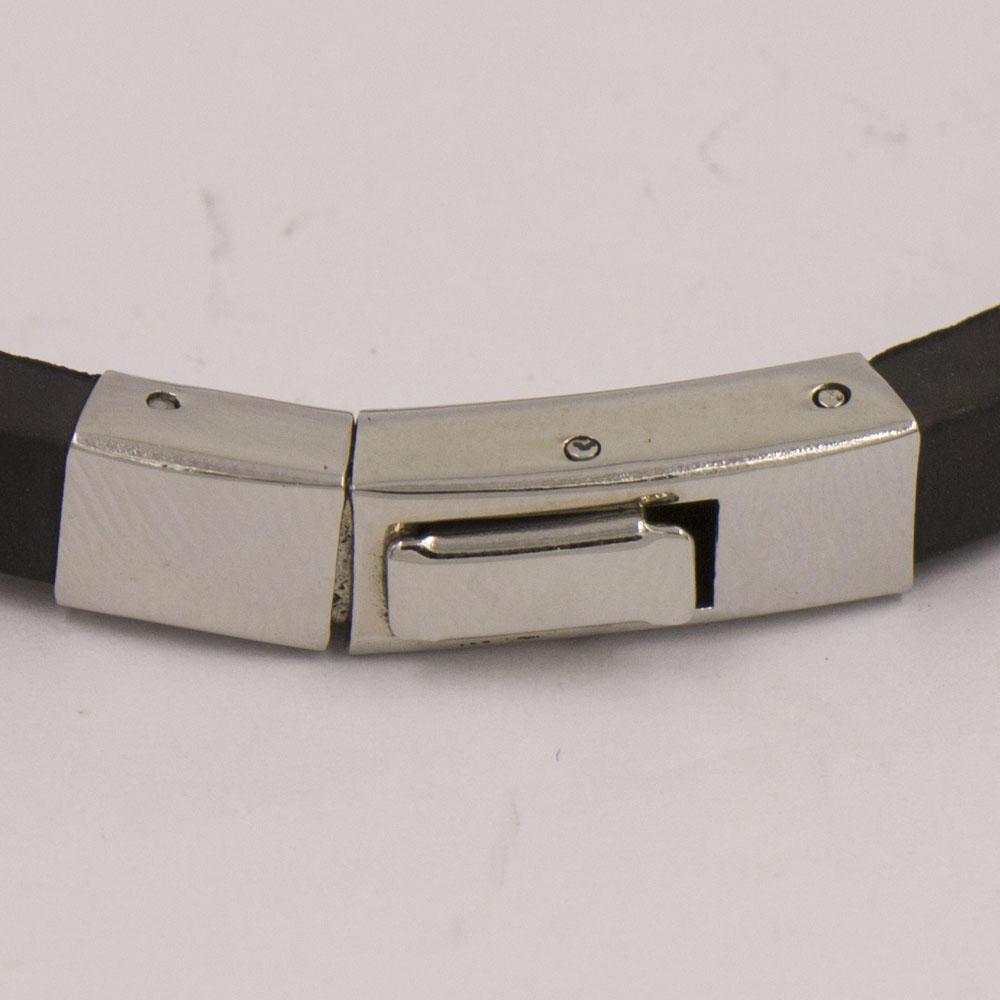Different buckles popular black bangles for men