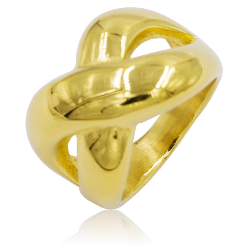 Wholesale dubai 18k gold ring in stainless steel,custom name ring