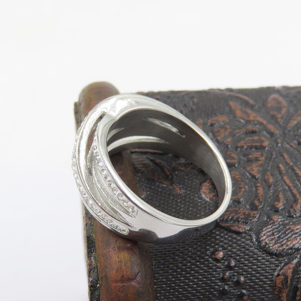 Custom ring jewelry ring in steel ring from manufacture