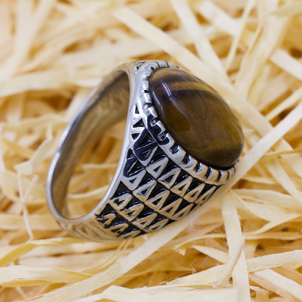Men's ring with stone wholesale new design low price