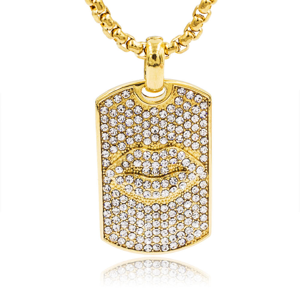 Customised necklace pendant necklace jewelry gold plating pendant necklace