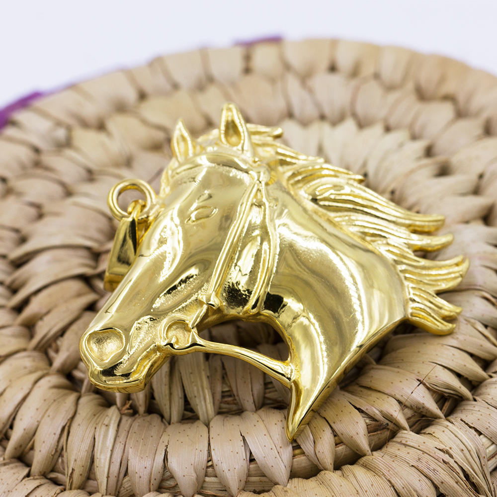 Necklace pendant custom jewelry  with horse pendant necklace VD057784-640