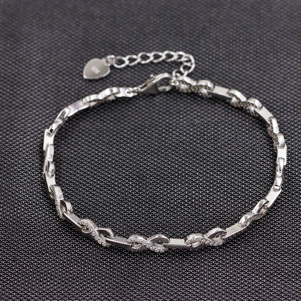 New Fashion women 925 Sterling Silver Bracelet For Girls AS00041-L46