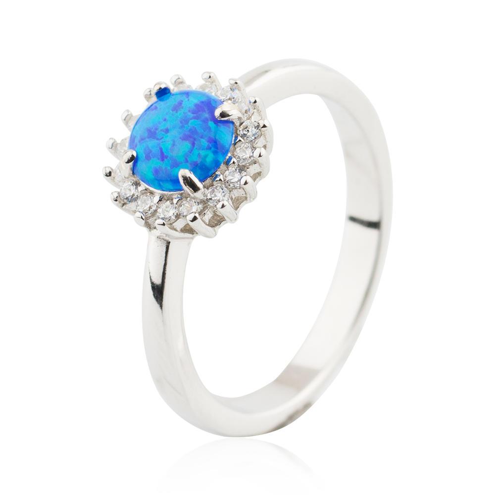 Opal Ring Women Accessories 925 Sterling Silver Wholesale Market Jusnova Silver