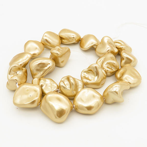 Powellbeads Natural Shell Pearl Colorful Loose Pearl Beads Strands XBSP00027bhva-L001