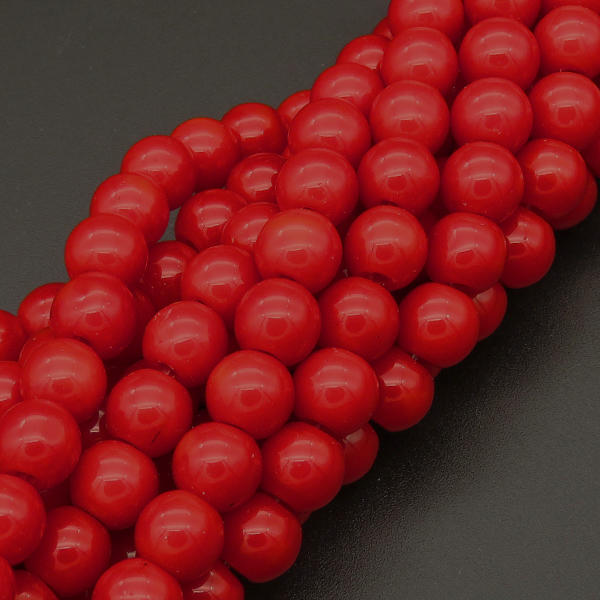 Powellbeads 4-10MM Crystal Glass Beads Faceted Flat Glass Beads