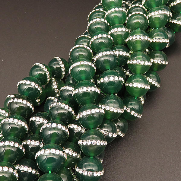 Wholesale Natural Agate Gemstones 6mm 8mm 10mm 12mm Faceted Round Beads For Jewelry Making