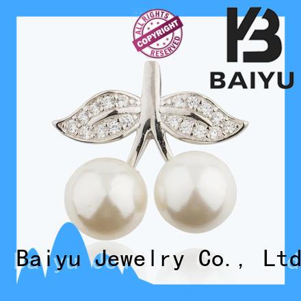 Baiyu Jewelry irregular pearl jewelry pendants auspicious for girlfriend