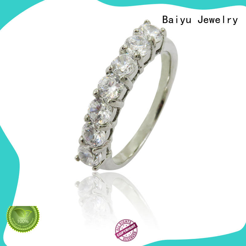shaped womens stainless steel rings fashionable for ladies