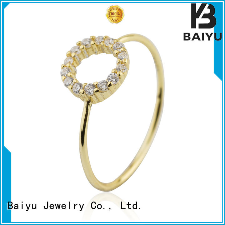 plain design s925 ring fashion style for ladies