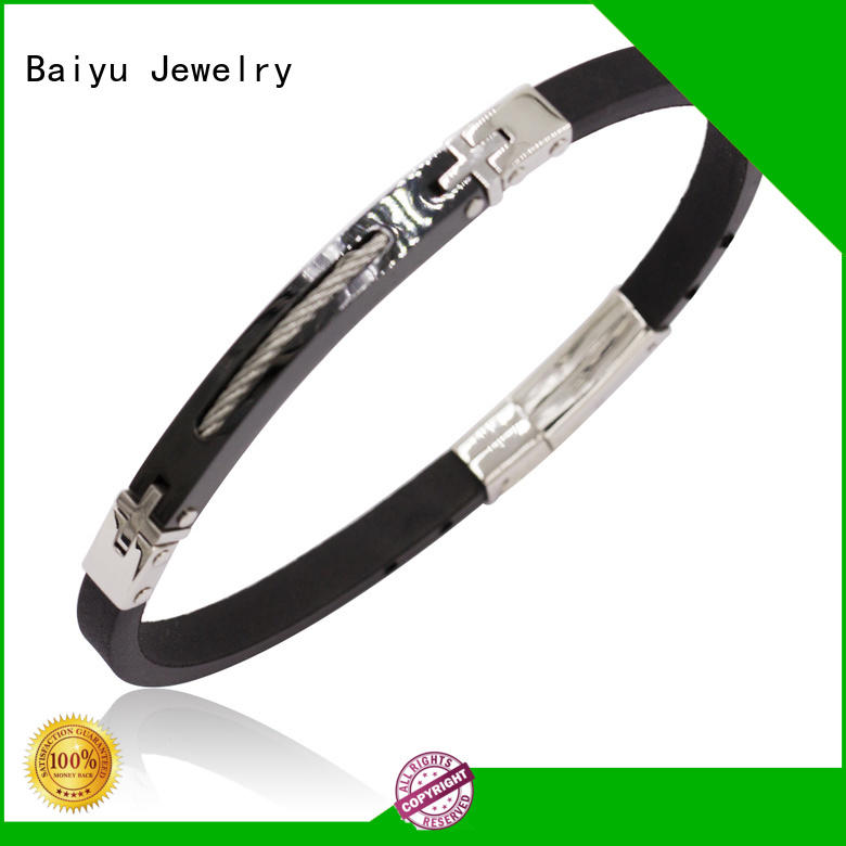 hot-sale mens leather bangle on-sale for wholesale