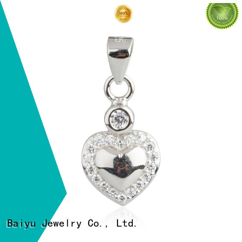 rose sterling silver pendants luck bird for girlfriend
