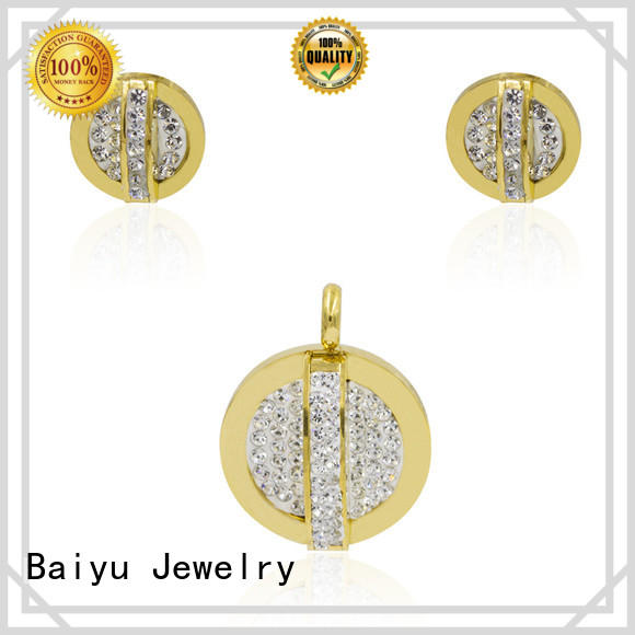 life seed cheap stainless steel jewelry colorful for friend Baiyu Jewelry