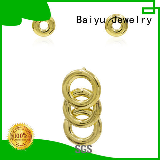 eight costume jewellery sets cross for friend Baiyu Jewelry