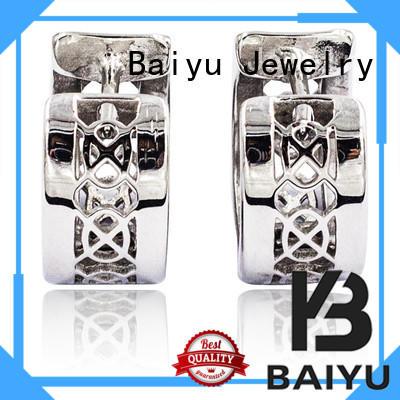 hoop earrings online shape for ladies Baiyu Jewelry