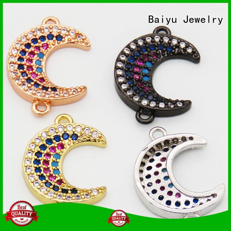 Baiyu Jewelry Custom jewelry pendant connector for business for girlfriend