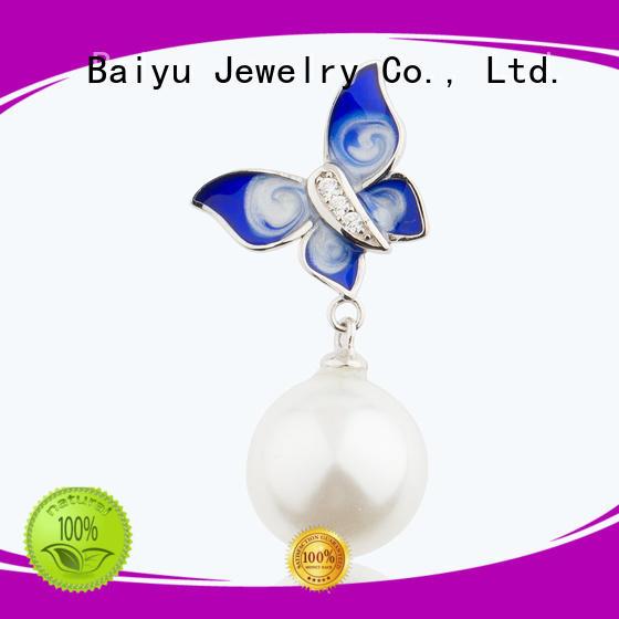 Baiyu Jewelry cute pendant design parrot for friendship