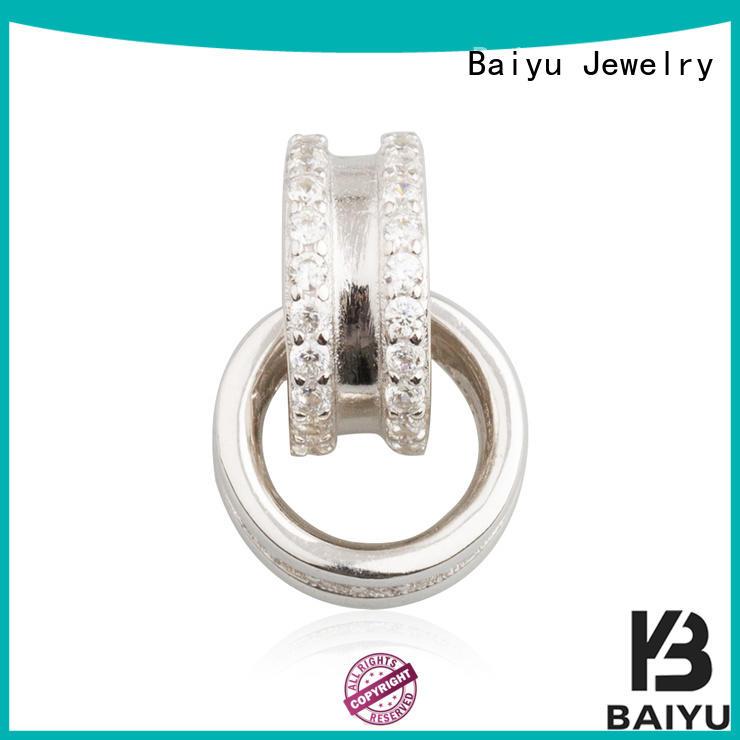 enamel charms jewelry pendants modern design for girl