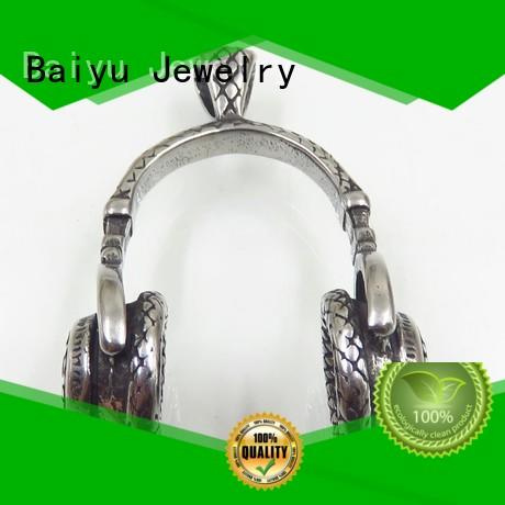 Baiyu Jewelry stainless steel charms and pendants free sample for girl