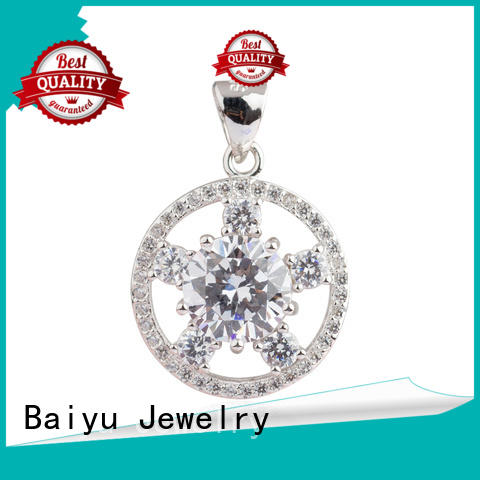 star large sterling silver pendants colorful for girlfriend