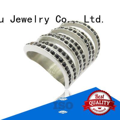 Baiyu Jewelry geometric wholesale stainless steel earrings for female