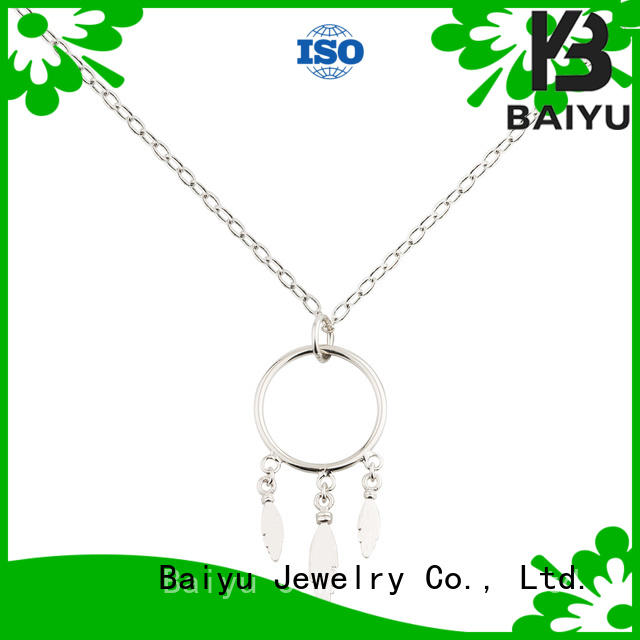 Shape Dream Styles  Charm Necklace 925 Sterling Silver Popular Models Jusnova Silver AN40200