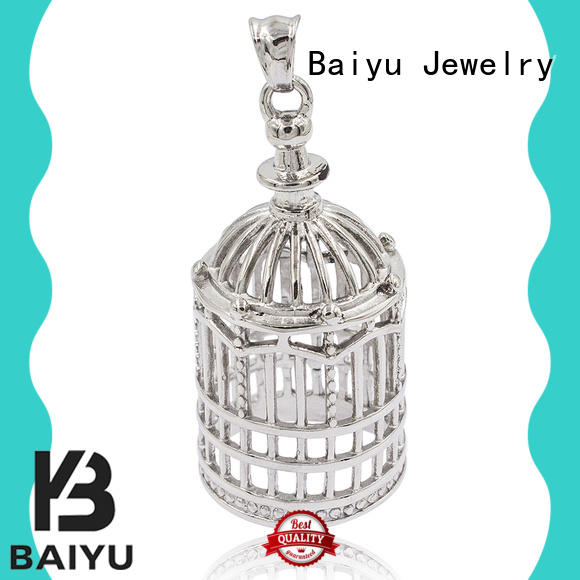 stainless steel pendant heart-shaped for lady Baiyu Jewelry