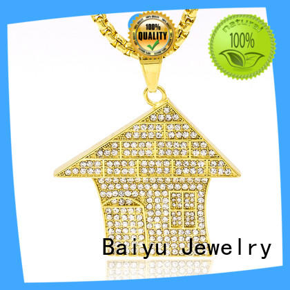 Baiyu Jewelry fashion designs stainless steel curb chain for wholesale
