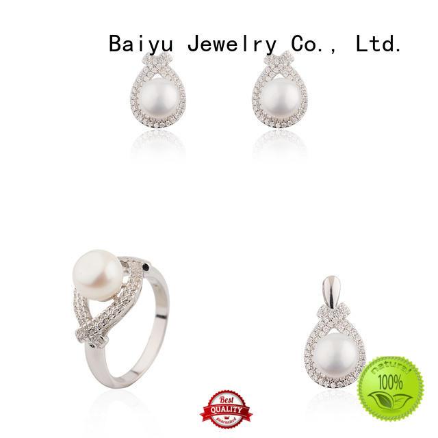 Baiyu Jewelry silver jewellery set for women