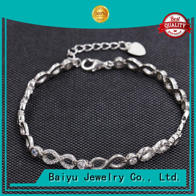 Nice Design And Original Stlyle 925 Sterling Silver Bracelet AS00036-L46