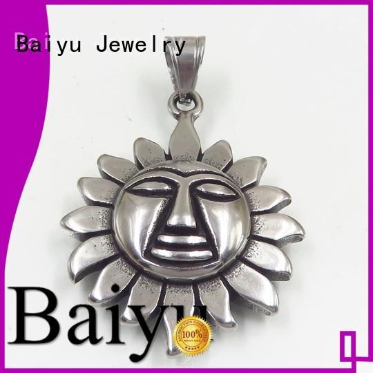 Baiyu Jewelry Brand metal stainless steel pendants wholesale european supplier