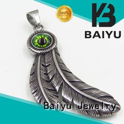 Baiyu Jewelry stainless steel necklace pendants at discount for gift