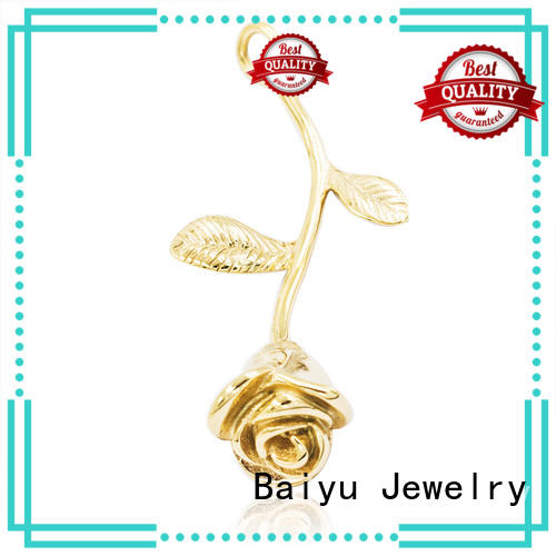 heart-shaped custom made stainless steel pendants romantic for lady Baiyu Jewelry